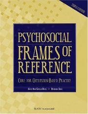 Cover of: Psychosocial Frames of Reference | Mary Ann Giroux Bruce