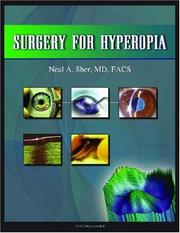 Cover of: Surgery for Hyperopia | Neal A. Sher
