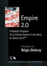Cover of: Empire 2.0 | ReМЃgis Debray