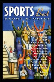Cover of: Sports Best Short Stories | Paul D. Staudohar