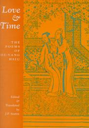 Cover of: Love and time