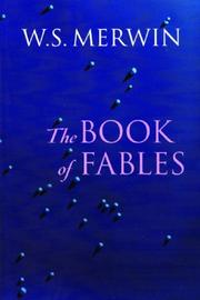 Cover of: The Book of Fables | W. S. Merwin