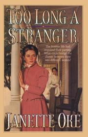 Cover of: Too long a stranger