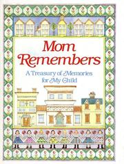 Cover of: Mom Remembers