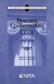 Cover of: Practice commentaries--Federal rules of evidence