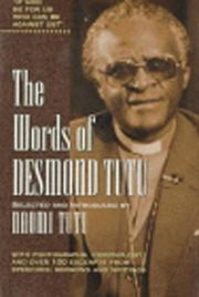 Cover of: The words of Desmond Tutu