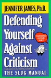 Cover of: Defending Yourself Against Criticism