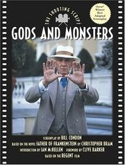 Cover of: Gods and monsters | Bill Condon