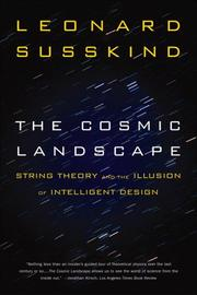Cover of: The Cosmic Landscape by Leonard Susskind