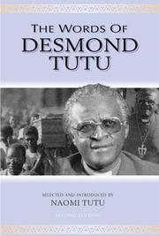 Cover of: The Words of Desmond Tutu, Second Edition (Newmarket Words Of...)