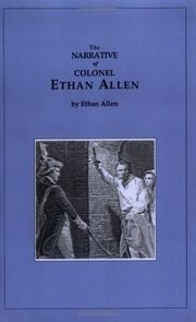 Cover of: Narrative of Ethan Allen