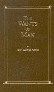 Cover of: Wants of a Man
