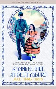 Cover of: A Yankee girl at Gettysburg