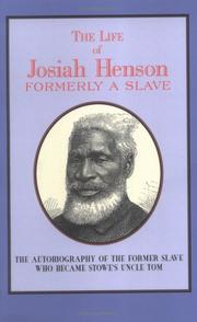 Cover of: The Life of Josiah Henson | Josiah Henson