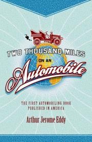 Two Thousand Miles on an Automobile by Arthur Jerome Eddy