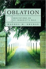 Cover of: Oblation | Rachel M. Srubas