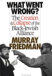 Cover of: What Went Wrong? | Murray Friedman