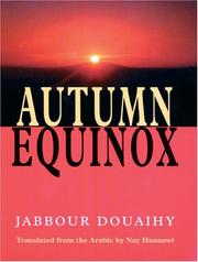 Cover of: Autumn Equinox | Jabbur Duwayhi