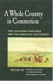 Cover of: A whole country in commotion |