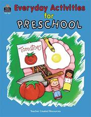 Cover of: Everyday Activities for Preschool