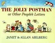 Cover of: The jolly postman, or, Other people's letters | Janet Ahlberg