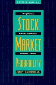 Cover of: Stock market probability