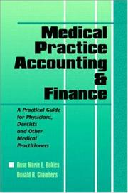 Cover of: Medical Practice Accounting & Finance | Rose Marie L. Bukics