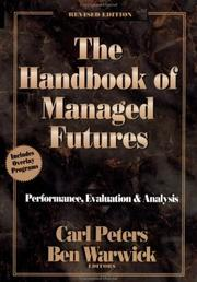 Cover of: The handbook of managed futures |