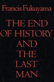 Cover of: The end of history and the last man