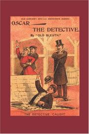 Cover of: Oscar the Detective