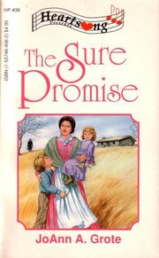 Cover of: The Sure Promise (Heartsong Presents #36)