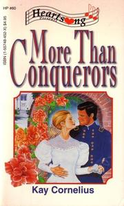 Cover of: More Than Conquerors (Heartsong Presents #60)