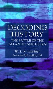 Cover of: Decoding History | W. J. R. Gardner