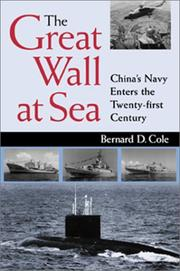 Cover of: The Great Wall at Sea | Bernard D. Cole