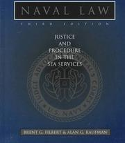 Cover of: Naval law