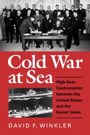 Cover of: Cold war at sea