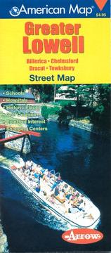 Cover of: Map-Greater Lowell, MA | Arrow Map Incorporation