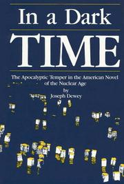 Cover of: In a dark time