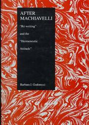 After Machiavelli