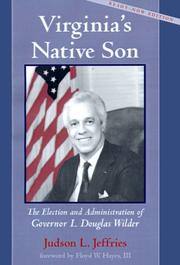 Cover of: Virginia's native son