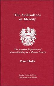 Cover of: The ambivalence of identity