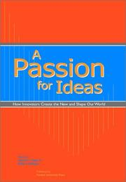 Cover of: A Passion for Ideas | Heinrich Von Pierer