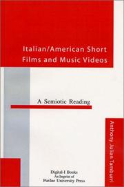 Cover of: Italian/American Short Films and Music Videos | Anthony Julian Tamburri