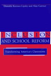 Cover of: Inclusion and school reform