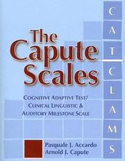 Cover of: The Capute Scales | Pasquale J. Accardo