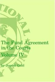 Fund Agreement in the Courts
