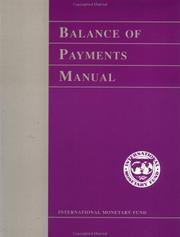 Balance of payments manual by International Monetary Fund.