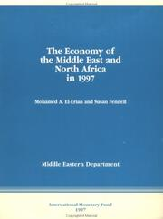 Cover of: The economy of the Middle East and North Africa in 1997