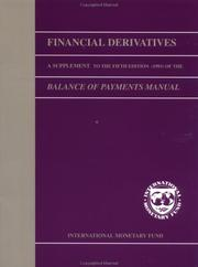 Cover of: Financial derivatives |