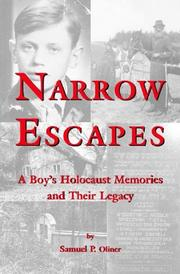 Cover of: Narrow Escapes